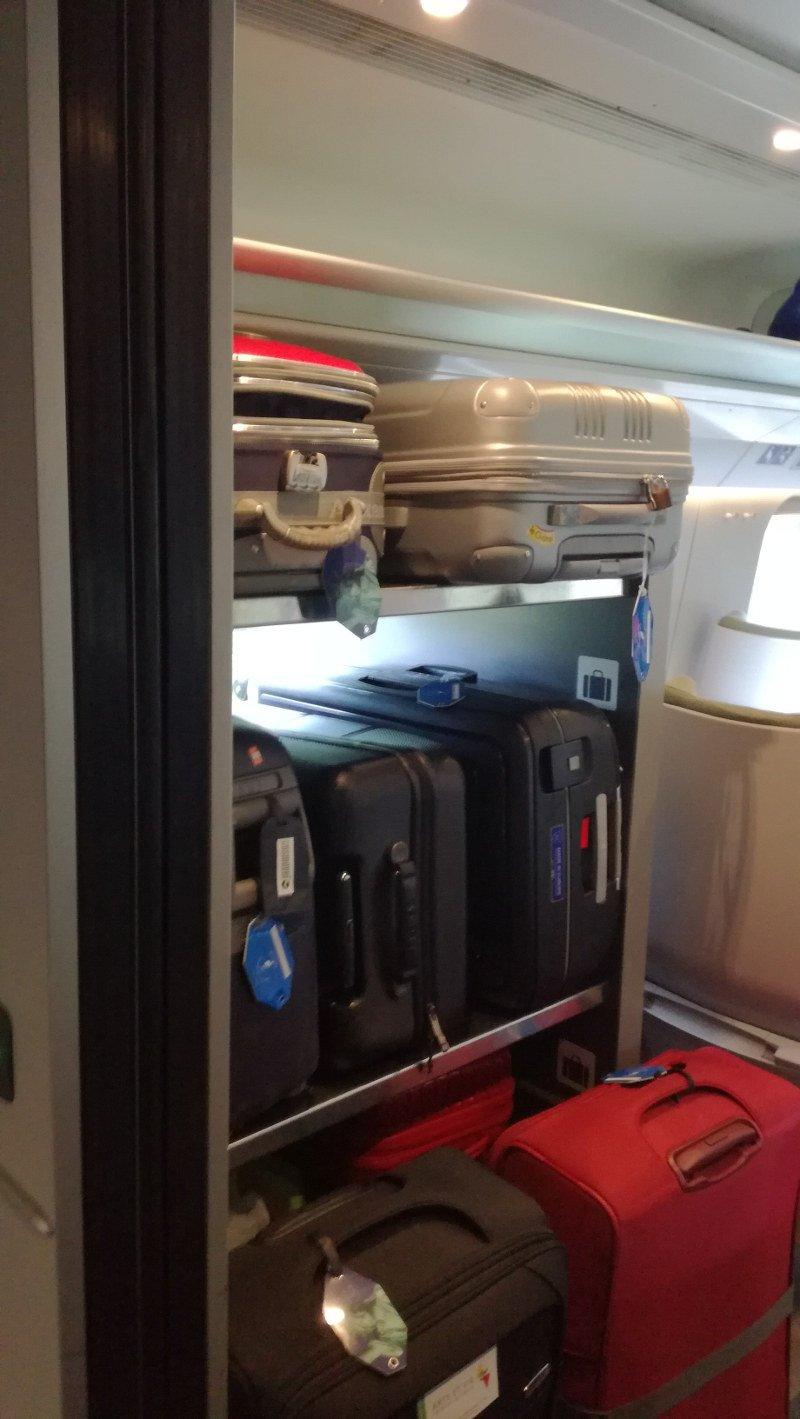 Miejsce na duże walizki w Pendolino